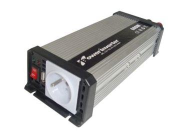 Image de INVERSEUR DE TENSION 12V DC VERS 230V AC 600W