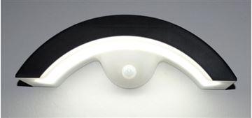 Image de APPLIQUE LED SOLAIRE 2,5W 5500K NOIR IP44