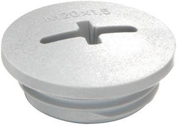 Image de BOUCHON PVC M16 GRIS