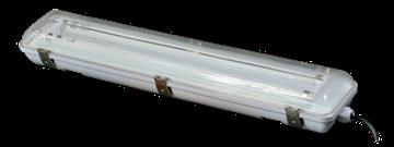 Image de ARMATURE HERMETIQUE HF T8 2X18W IP65 600MM