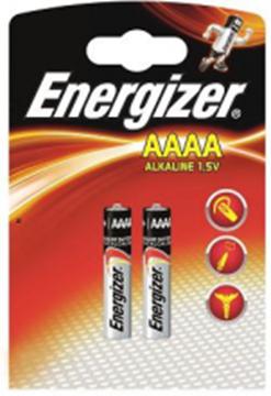 Image de 2 PILES ENERGIZER MAX AAAA LR61
