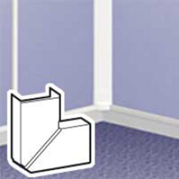 Image de ANGLE PLAT VARIABKE POUR MOULURE DLP 32X16 BLANC