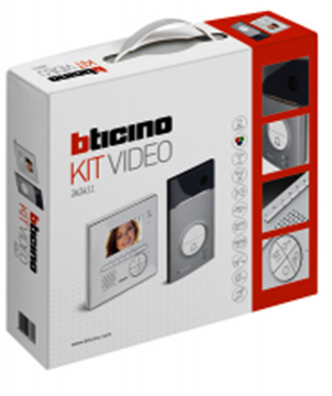 Image de KIT VIDEO COULEUR 1BP LINEA 3000 + CLASSE 100 V12E