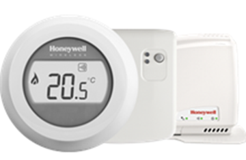 Image de THERMOSTAT ROUND CONNECTED WIRELESS ON/OF