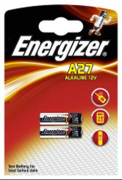 Image de 2 PILES ENERGIZER LR /A27 12V