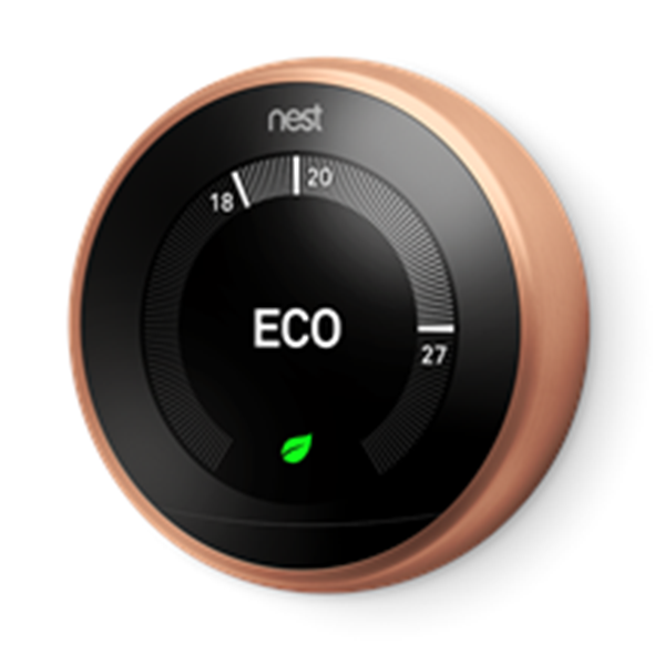 Image sur NEST LEARNING THERMOSTAT 3 GENERATION CUIVRE