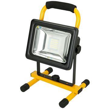 Image de PROJECTEUR LED RECHARGEABLE 20W 760