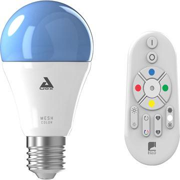 """Image de AMPOULE LED """"EGLO CONNECT"""" E27 9W RGBW AVEC TELECOMMANDE"""