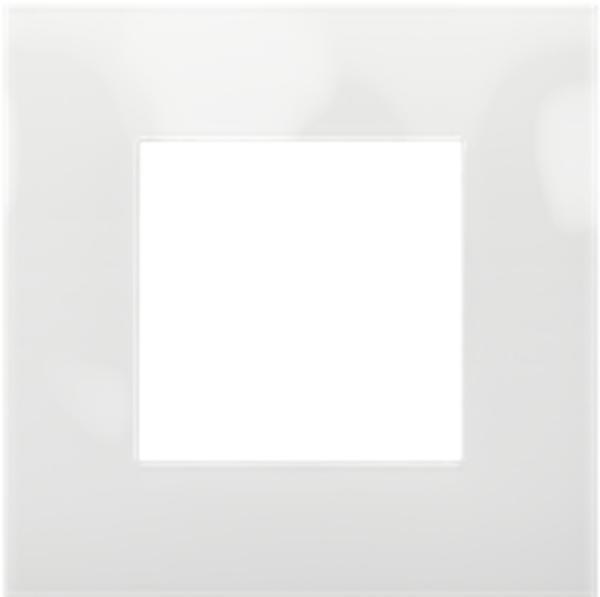 Image sur PLAQUE SIMPLE PURE BLANC NEIGE