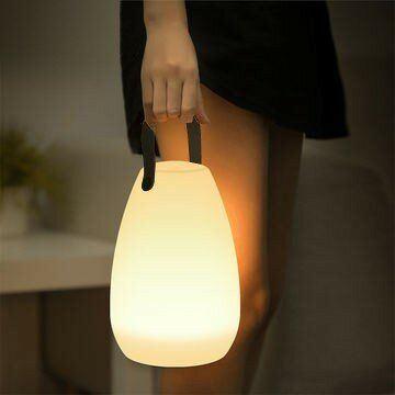 Image de LAMPE DE TABLE LED RGB SUR BATTERIE