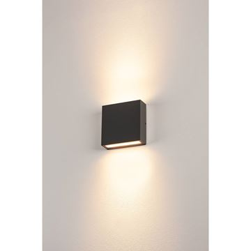 "Image de APPLIQUE LED ""BIG QUAD"" 2X3W 830 ANTHRACITE IP54"