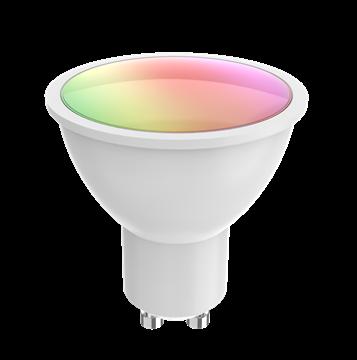 Image de WOOX SMART WIFI AMPOULE LED GU10 RGB