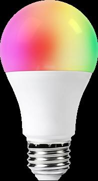 Image de WOOX SMART WIFI AMPOULE LED E27 RGB
