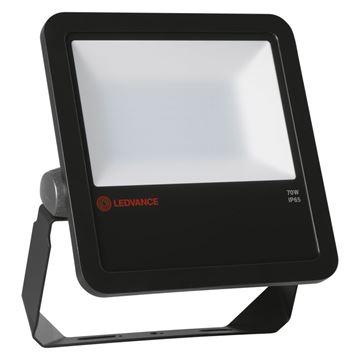 """Image de PROJECTEUR LED """"LEDVANCE"""" 70W 840 NOIR IP65"""