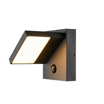 """Image de APPLIQUE LED """"ABRIDOR SENSOR"""" 14W 830/840 ANTHRACITE IP54"""
