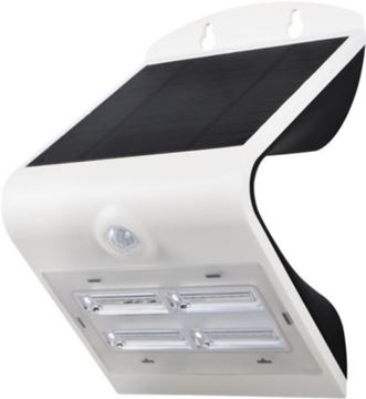 Image de APPLIQUE LED SOLAIRE 3,2W 830 BLANC IP65 AVEC DETECTEUR