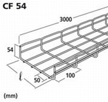 Image de CHEMIN DE CABLE CF 54X150 EZ 3M