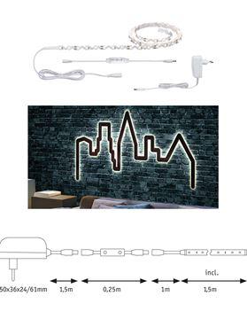 """Image de BANDEAU LED STRIP """"FLEXLED 3D"""" EN KIT 3W/M 830 1,5M"""