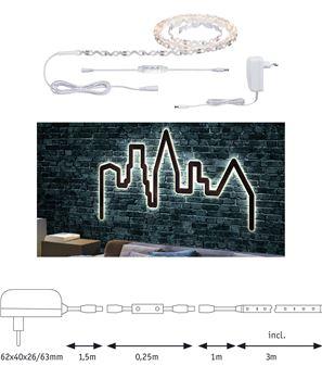 """Image de BANDEAU LED STRIP """"FLEXLED 3D"""" EN KIT 3W/M 830 3M"""