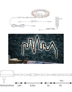"""Image de BANDEAU LED STRIP """"FLEXLED 3D"""" EN KIT 3W/M 830 5M"""