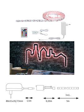 """Image de BANDEAU LED STRIP """"FLEXLED 3D"""" EN KIT 7W/M RGB 5M"""