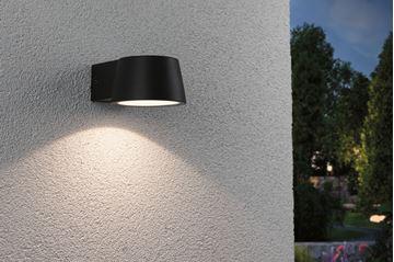 """Image de APPLIQUE LED """"CAPEA"""" 6W 830 ANTHACITE IP44"""