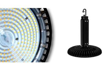 """Image de CLOCHE LED """"ONEDA"""" 100W 740 90° ANTHRACITE IP65 DIM 1-10V"""