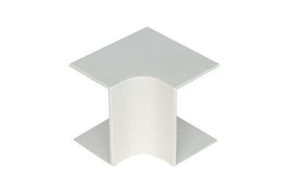 Image sur ANGLE INTERIEUR BLANC GOULOTTE 40X30/40