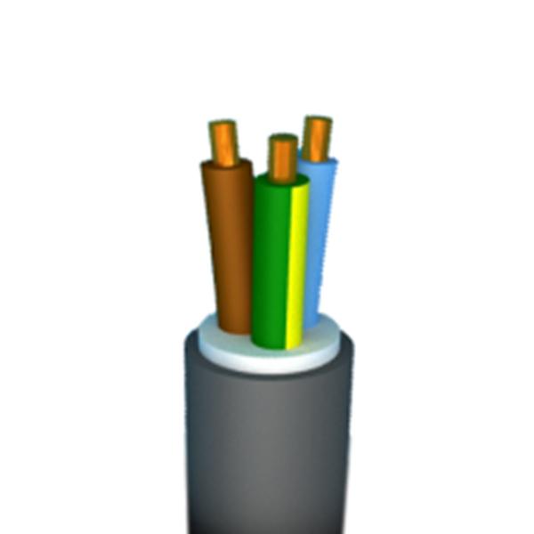 Image sur CABLE D'INSTALLATION XVB-CCA 3G2,5 GRIS R50