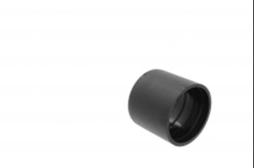 Image de EMBOUT POUR TUBE PVC 20MM NOIR